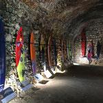 Ehrenhalle für die Surfer-Legenden in der Festung