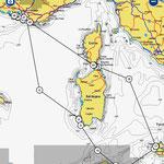Route Herbsttörn: 1200 Seemeilen mit viel Wind, Welle und Regen
