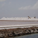 Salt pans on Bonaire