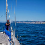 Wir nähern uns den galizischen Rias und Vigo