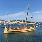 Traditionelles Segelschiff