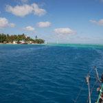 Toau - Atoll with a false pass