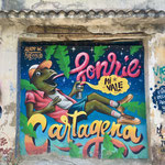 Street art in Getsemani
