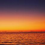gorgeous sunset with Venus