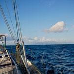 Leaving Ua Pou for Tahiti