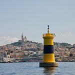 Ansteuerung von Marseille