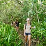 Wanderung auf Barbados