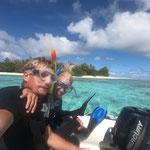 Snorkelling aficionados