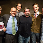 Playwrights William Fowkes, Greg DePaul, Robert Z. Grant, Craig Nobbs, Joe McCarthy, David A. Miller