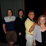 Adam Cousins (Young Gregory), Gavin Pickering (Young Samuel), Steve Robbins (Gregory), & Christie Robinson (Brittany)