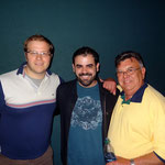 Adam Cousins (Young Gregory), Jon Ferreira (Director), & Steve Robbins (Gregory)