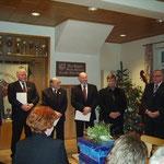 Weihnachtsfeier 2007 mit Ehrungen