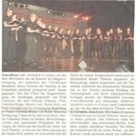 130 Jahre Sängervereinigung Schaafheim (Schaafheimer Zeitung vom 07.11.2009)