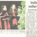15 Jahre Chorios (Dieburger Anzeigenblatt vom 16.11.2005)
