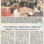 25 Jahre Gemischter Chor (Top Shop vom 03.11.2011)