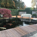 Teichbau japanischer Garten in Rheine