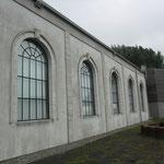 De voormalige badzaal is nu een bezoekerscentrum.