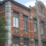 detail administratiegebouw