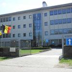 Voormalig administratiegebouw uit 1959, nu politieschool