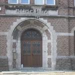 Detail hoofdingang