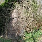Restant van de oude spoorbrug tussen Maireux en Bas-Bois