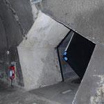 Vijfhoekige tunnel (uitgang)