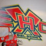 Das Logo vom EHC Biel