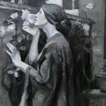 studie tonaliteit schilderij William Waterhouse