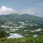 大松山からダボスの丘方面を臨む