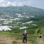 大松山を下ればほぼゴール