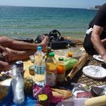 und zu guter Letzt: ein Bild vom Strand von Ajaccio / Korsika