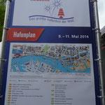 in Hamburg angekommen und ab zum Hafenfest