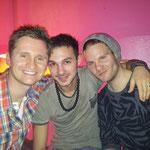 Letztes beisammen sein in Berlin u.a. mit Paolo und Patrick...