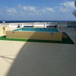 Unser eigener Pool am Crew Deck :)