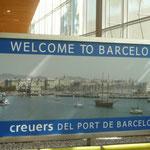 und schon bin ich in Barcelona...