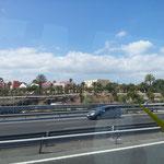 Angekommen im warmen Las Palmas / Gran Canaria