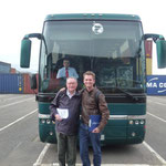 Martin, unser engl. Reiseleiter und der Hilfs-Tour-Guide ;)