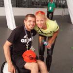 Hier mit Vanessa Low- Goldmedaille