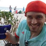 An der Copacabana beim Essen