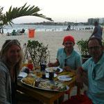 Essen an der Cobacabana