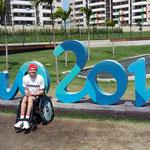 Im Olympischen Dorf