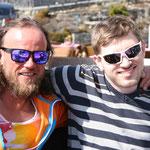 mit meinem tollen Skilehrer Tom