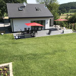 Ansicht Haus Garten