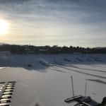 Edersee Winter bei Schnee