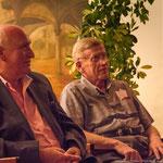 (von links) Bürgermeister Valldemossa Nadal Torres und Prof.Adam Wodnicki