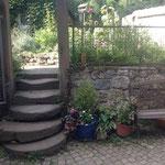 Der Weg zum Garten