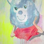 Bad idea, 2015 - Acryl auf Leinwand