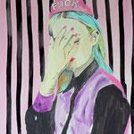 o.T. (Fuck), 2014 - Acryl auf Leinwand