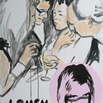 Lousy Party, 2007 - Acryl auf Leinwand