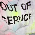 Out of service, 2015 - Acryl auf Leinwand